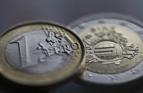 Euro Tops $1.35 First Time Since 2011 as Metals Rise, Bonds Fall