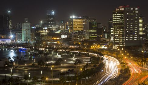 City Skyline In Luanda, Angola