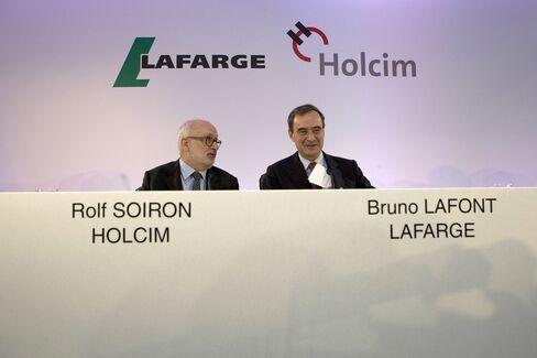 Roif Soiron And Bruno Lafont