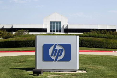 Hewlett-Packard Falls on Printer Slump View