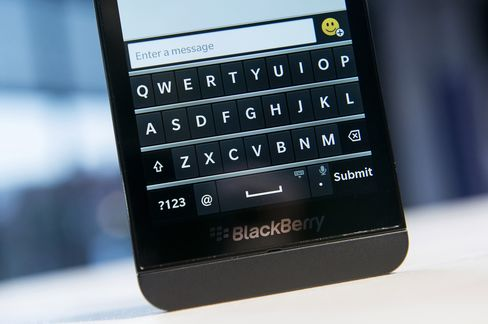 BlackBerry Z10 Attracts Record Orders at BCE