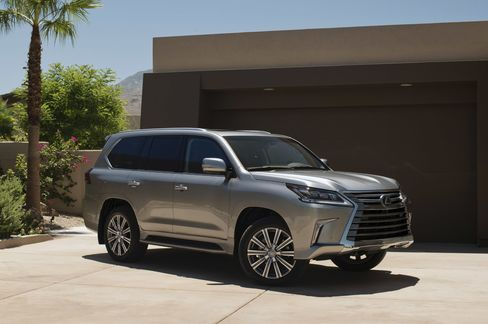 The Lexus LX, not in Brooklyn.