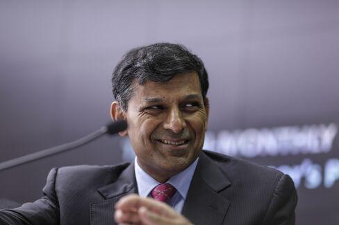 Raghuram Rajan, governor of the Reserve Bank of India (RBI). Photographer: Dhiraj Singh/Bloomberg