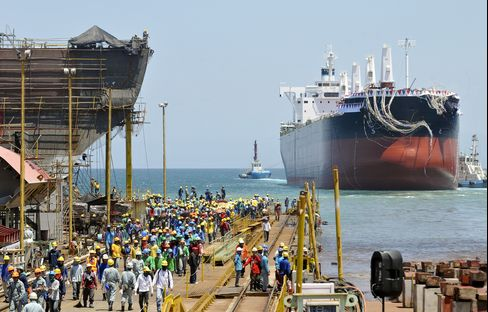 Beach Haven Launches Cargo Ships as Asia's Factories Head South