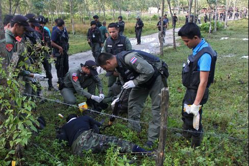 Thai Marines Kill 17 Insurgents in Repelling Attack on Base