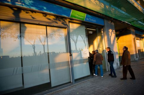Spain's Registered Unemployment Falls for First Month in Five