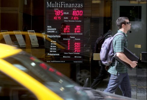 Buenos Aires Debt Gamble Busted by Peso Swoon