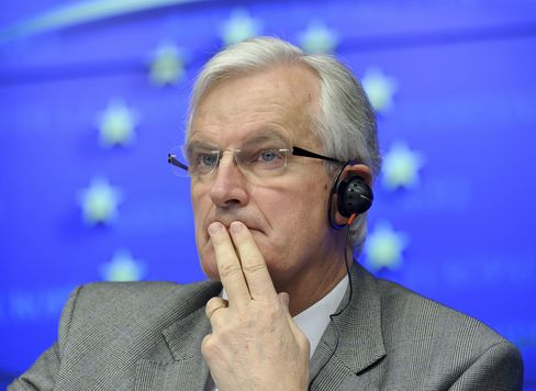 EU Financial Services Commissioner Michel Barnier
