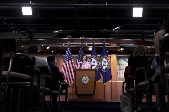 Pelosi on Center Stage With Biden's $4 Trillion Agenda at Risk