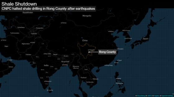 Shale Backlash Hits China After Deadly Quakes in Drilling Hub