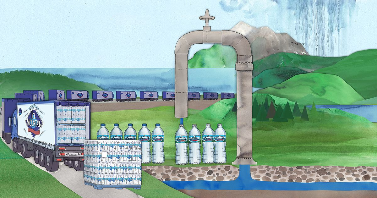 bloomberg.com - More stories by Caroline Winter - Nestlé Makes Billions Bottling Water It Pays Nearly Nothing For
