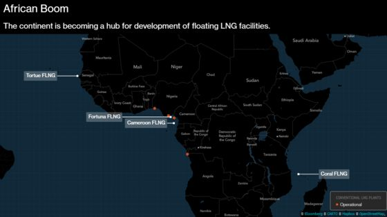 Africa LNG Set to Surge as Floating Projects Cut Time to Market