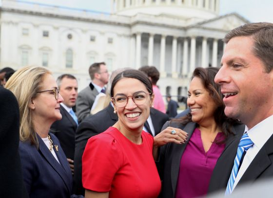 Ocasio-Cortez Poised to Join Panel Overseeing Wall Street