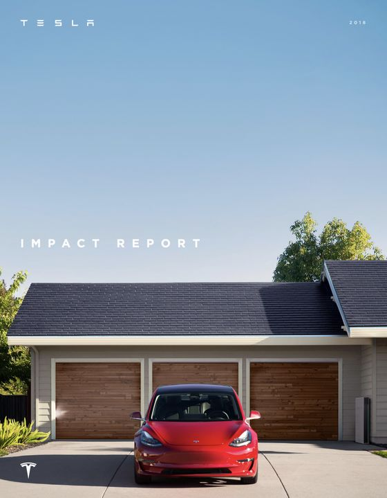 Tesla's First Impact Report Puts Hard Number on CO2 Emissions