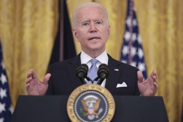 Biden at the White House on Thursday