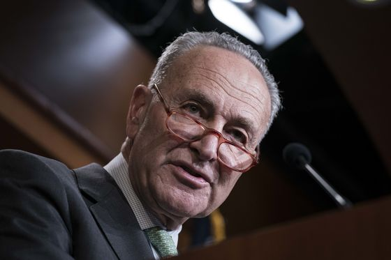 Schumer Heads for Infrastructure Vote Defeat as Talks Drag
