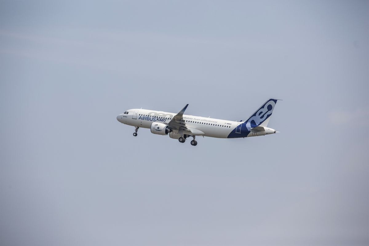 Airbus Achieves a Global First With Its Hot A320