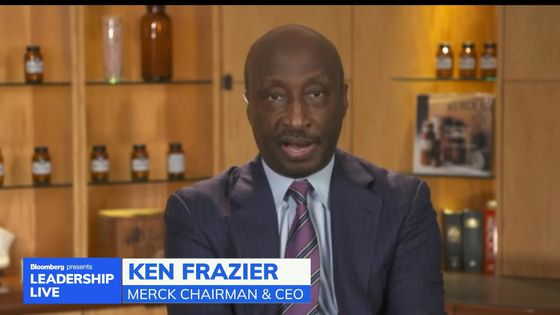 Merck CEO Says Dearth of Black Executives Shows Lack of Progress