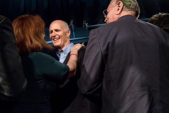 GOP's Scott Bombards Florida Voters in Bid to Flip Senate Seat