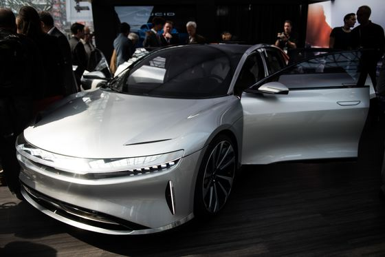 This Is the Tesla Rival That's Wooing the Saudis