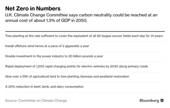 Fly Less, Cut Meat, No Diesel: The U.K.'s Roadmap to Zero Carbon