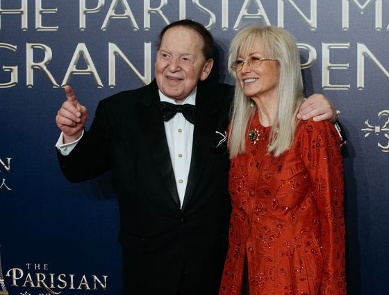 Adelsons Spent $55 Million to Help GOP Win Battle for Congress