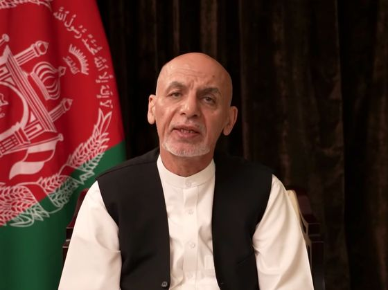 How Afghanistan's Ghani Went From President to Villain in Hiding