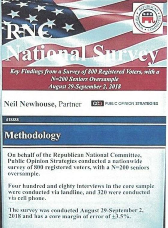 Leaked RNCPoll Revealsthe Midterms Are All About Trump