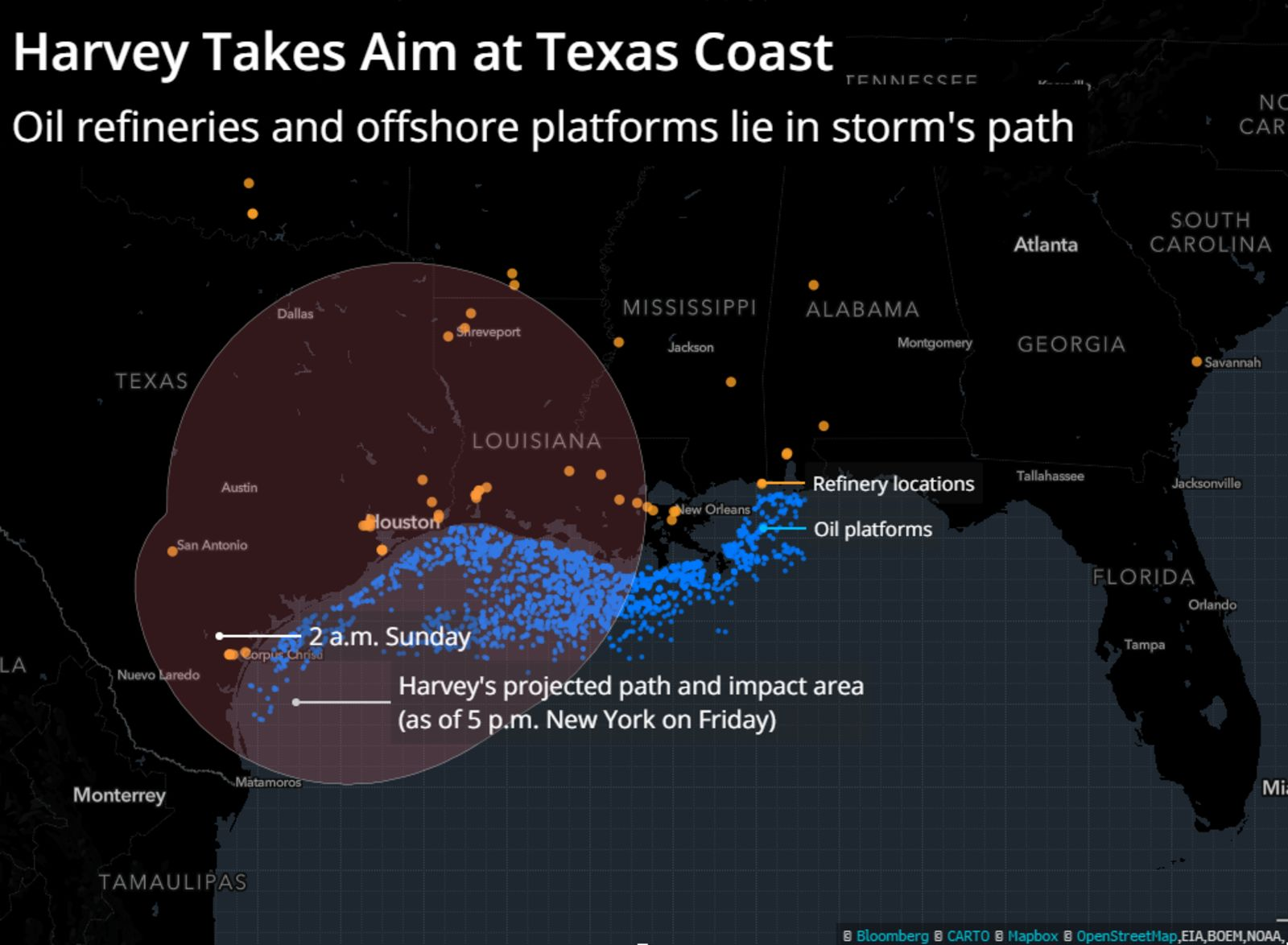 Harvey Set to Overpower Wind in State Generating the Most ...