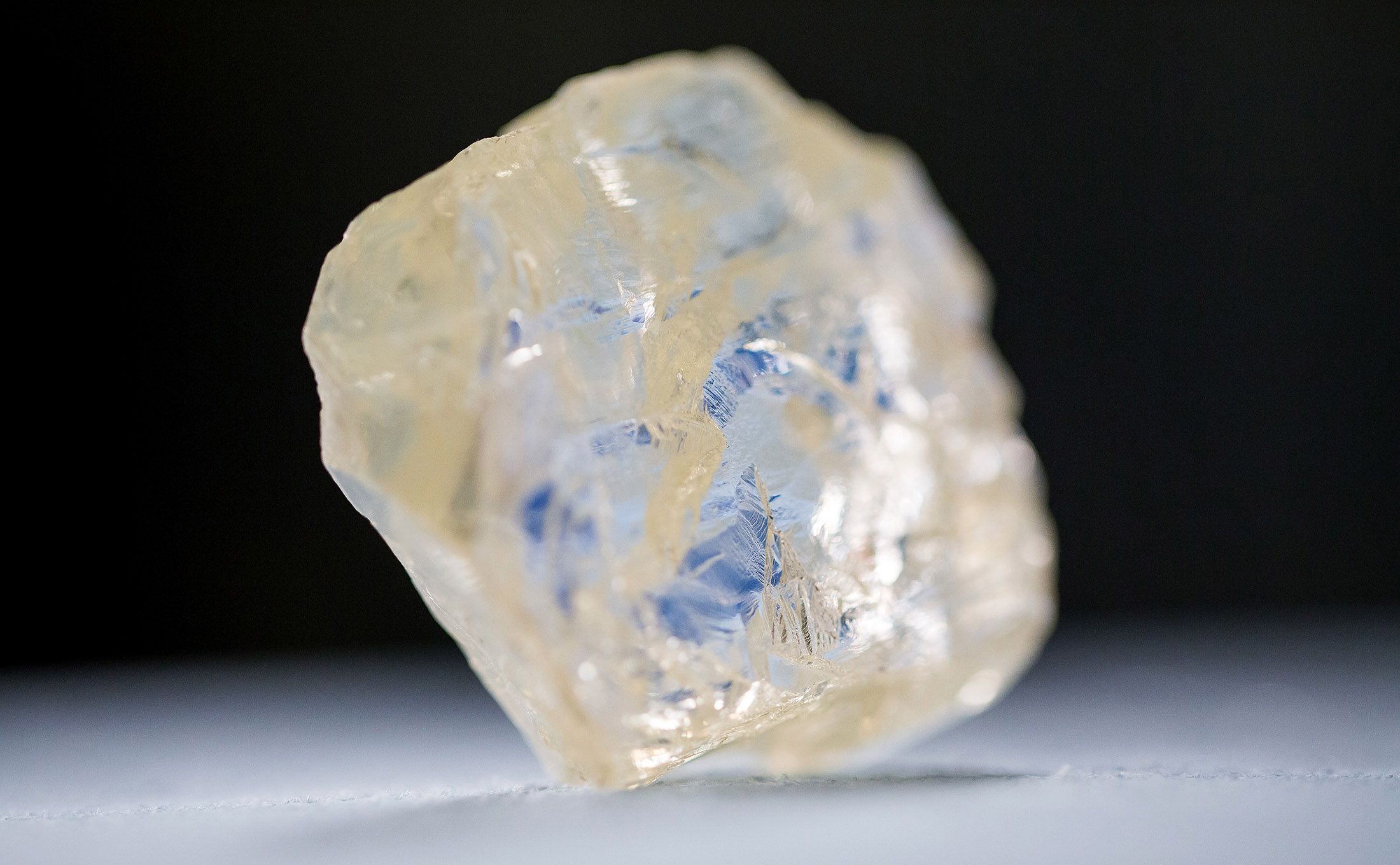 Freakish Diamond Pulled From Sub Arctic Ice Is About To Go