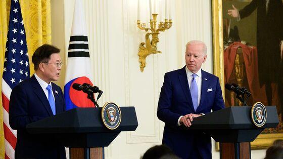 Biden, Moon Vow Unity on North Korea as U.S. Names New Envoy