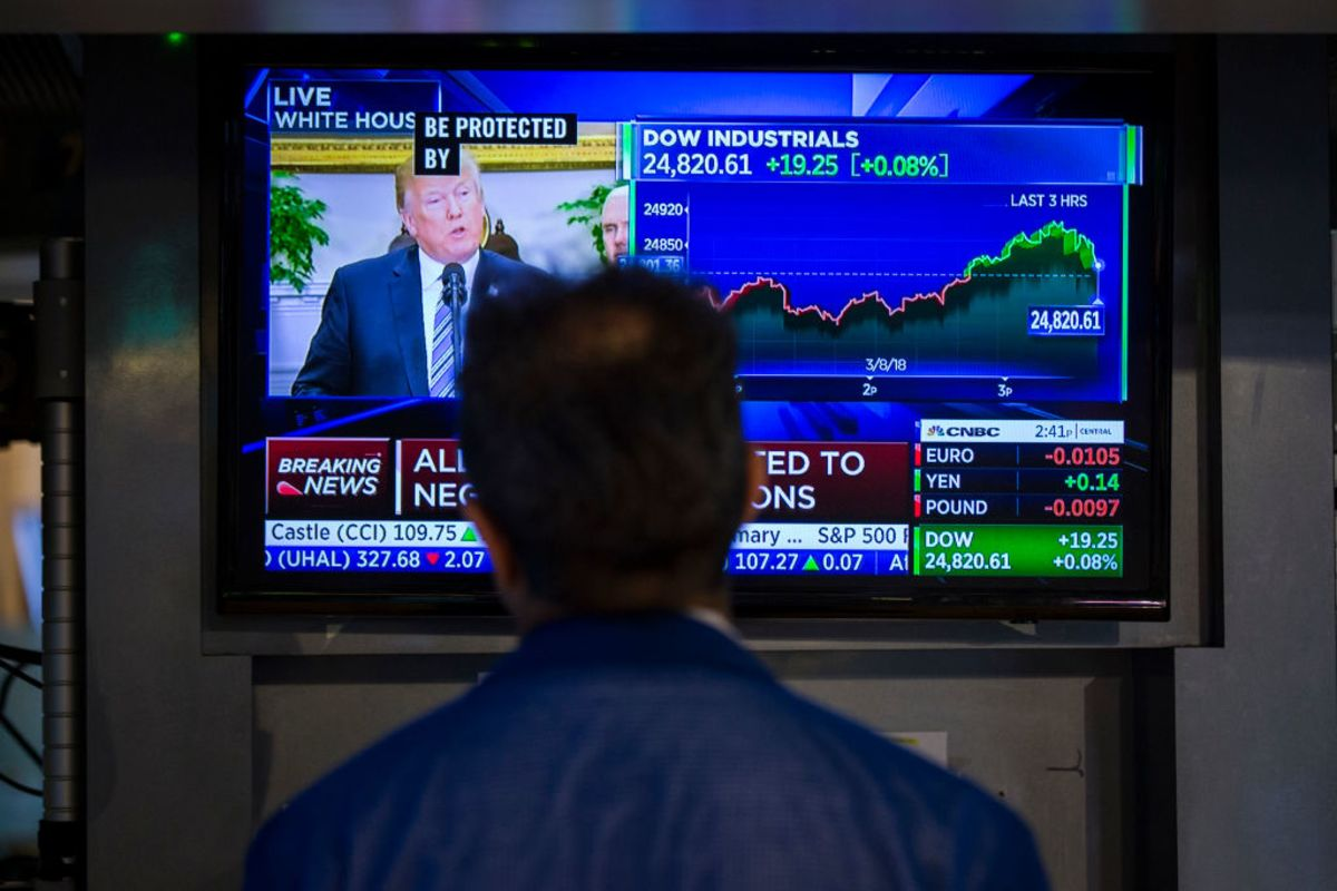 Yes, Stocks Are Soaring in the Trump Era