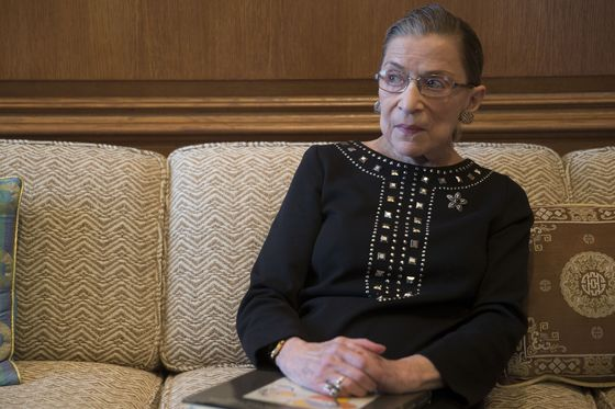 Ruth Bader GinsburgHospitalized With Three Broken Ribs