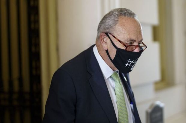 Schumer at the Capitol
