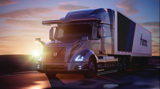 Driverless Tech Startup Aurora Adds Volvo to Trucking Partners