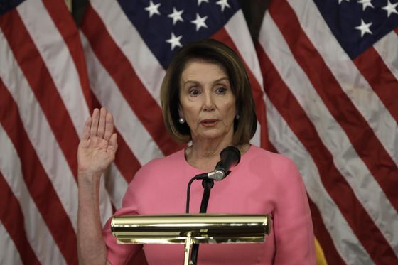 Pelosi's Quest to Be Speaker Hits 'Uh-Oh'Moment