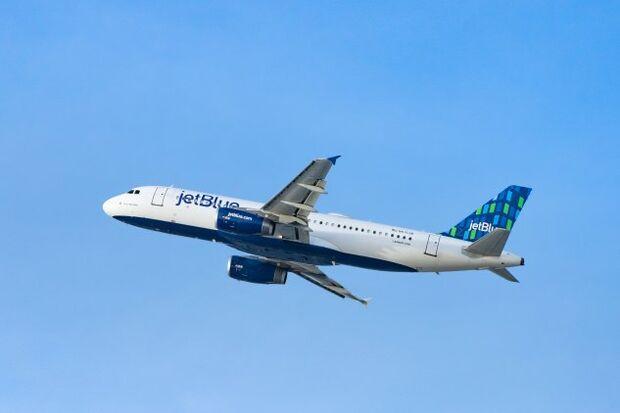 JetBlue airplane
