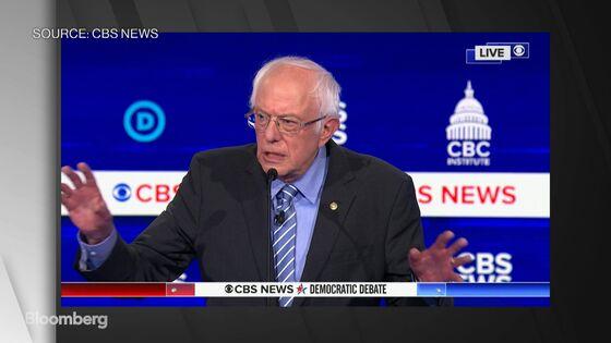 Bernie Sanders Absorbs Brunt of Rivals' Attacks in Debate Free-for-All