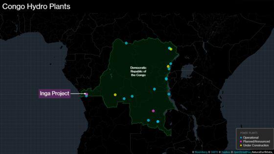 Congo Sets Deadline for Plan on 11,000-Megawatt Hydro Plant