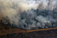 TOPSHOT-BRAZIL-FIRE-DEFORESTATION-AMAZON