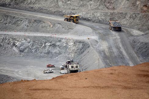 Oyu Tolgoi Copper-Gold Mine