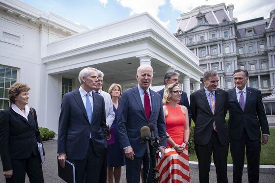 GOP Senators Say Biden's Infrastructure Deal Back on Track