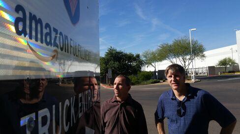 Amazon Workers Brian Weiss & Dean Scherr