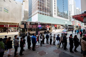 Reaction In Hong Kong As U.S., Japan Warn Citizens to Avoid Travel to China