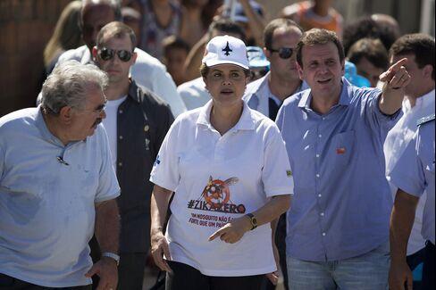 Dilma Rousseff promotes the Zero Zika campaign