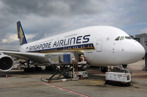 Singapore Air's Last A380 Ends Jumbo-Jet Orders