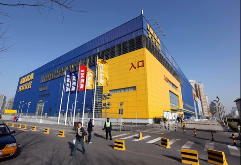 Ikea to Triple the Pace of Store Openings in China