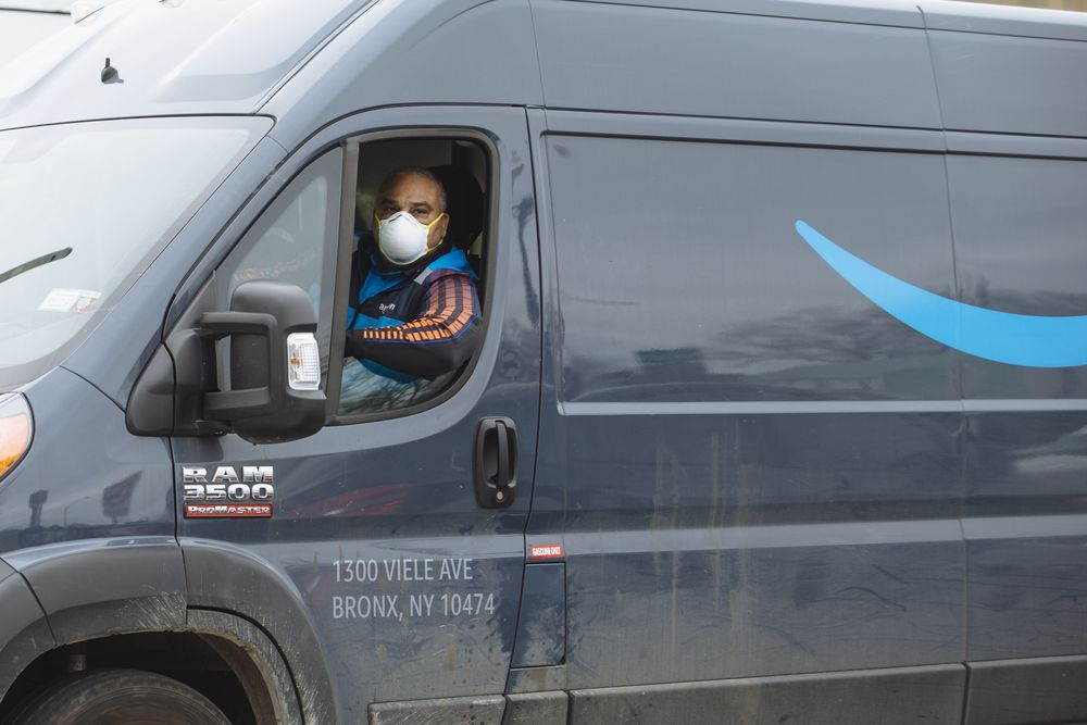 Van and truck drivers