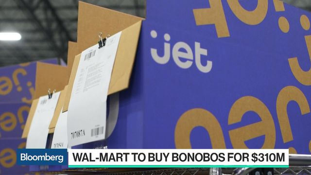 Wal-Mart Agrees to Acquire Bonobos as Amazon Steals Spotlight