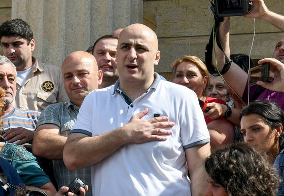 Police in Georgia Storm Opposition Party HQ to Arrest Leader